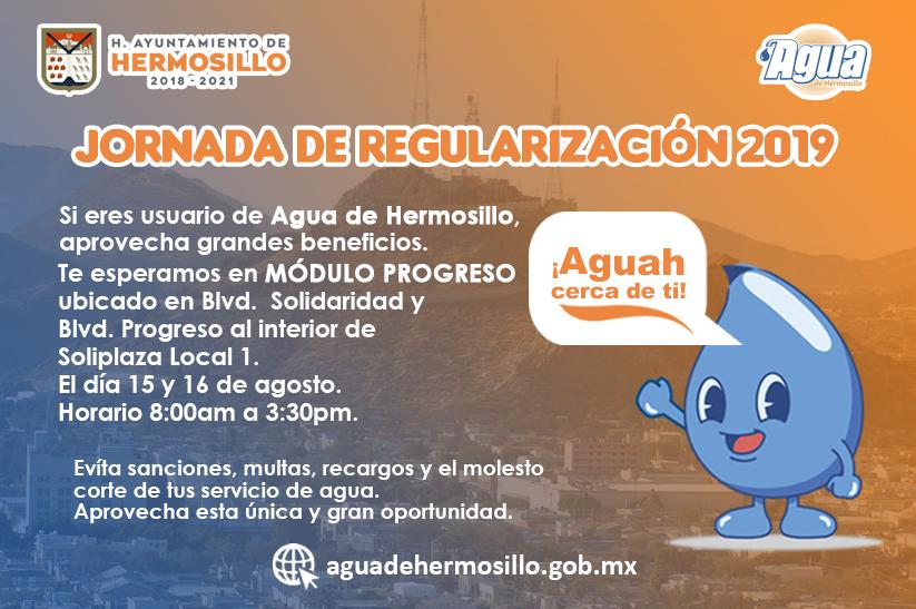 Agua De Hermosillo Boletín 155 Próxima Jornada De