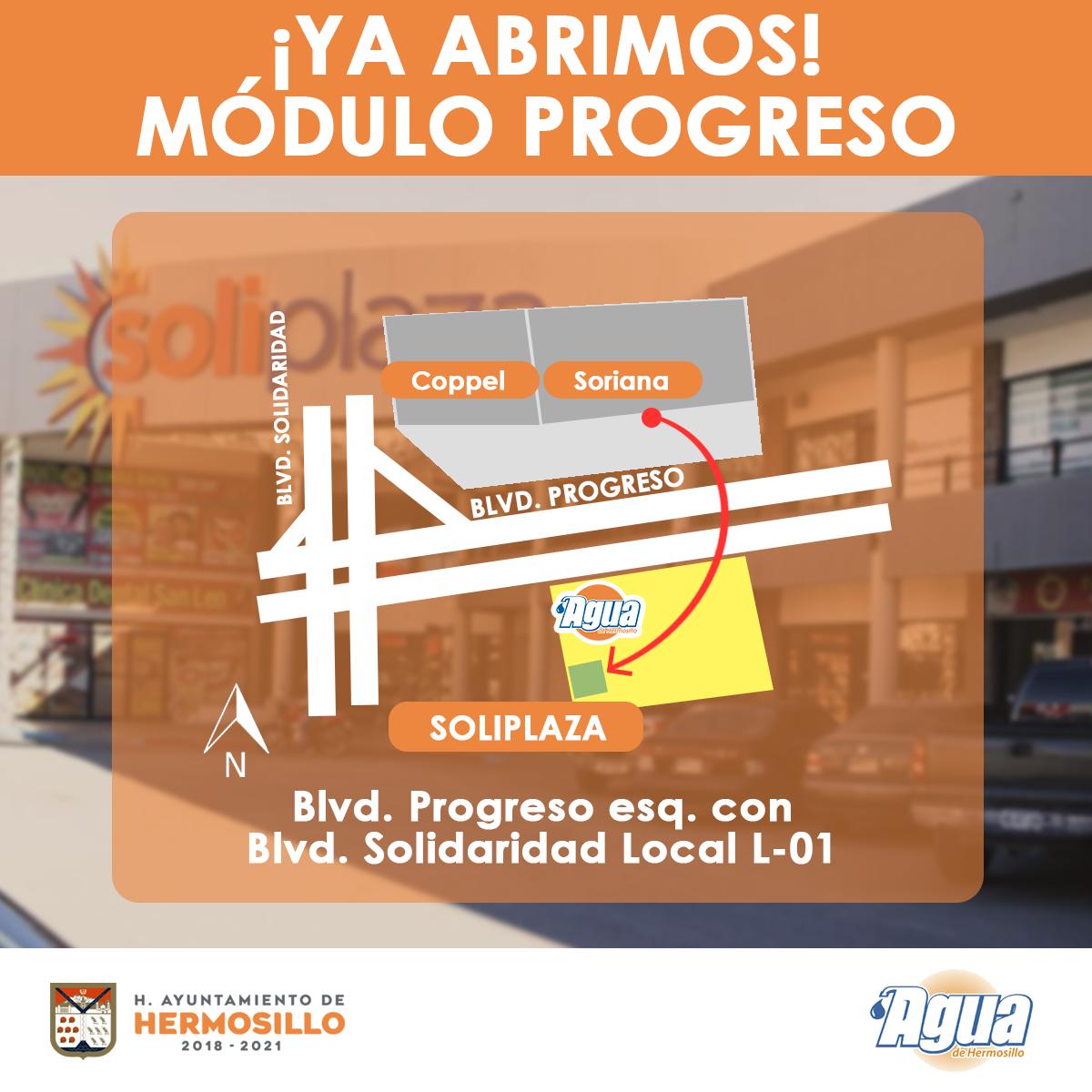 Agua De Hermosillo Boletín 153 Apertura De Módulo